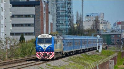 Anuncian paro de trenes para el miércoles