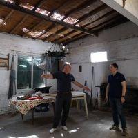 Fernando Gray ayudo a instituciones afectadas por el temporal