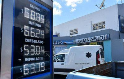 La nafta súper ya se vende a casi 60 pesos en Mar del Plata