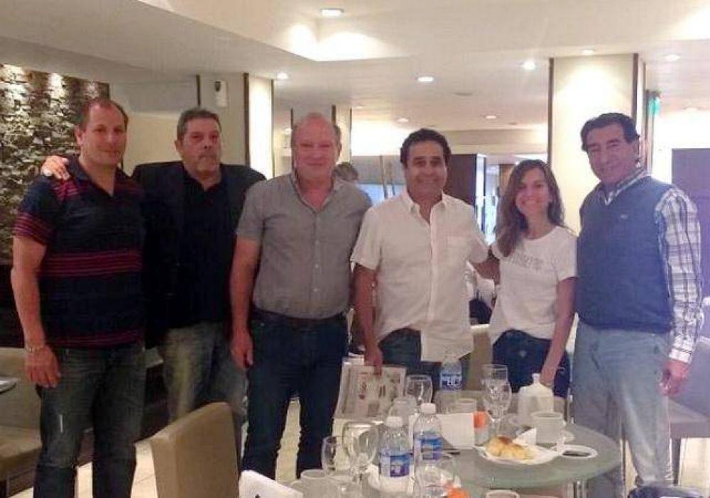 Dirigentes de la UOCRA Mar del Plata se reunieron con Fernanda Raverta