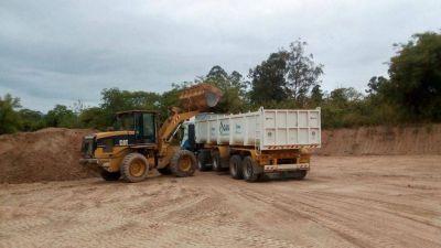Agua Potable culminó tareas de reacondicionamiento en laguna pre sedimentadora en Libertador