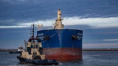 En 2019 pasaron 300 buques por el Puerto Quequén