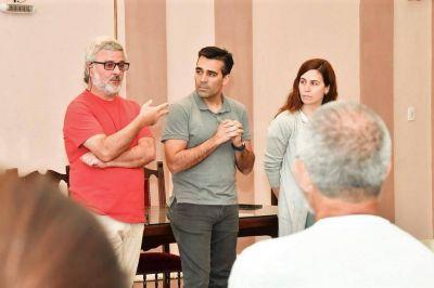 El intendente diplomó a los productores culturales seleccionados por el Fondo Regional de la Artes
