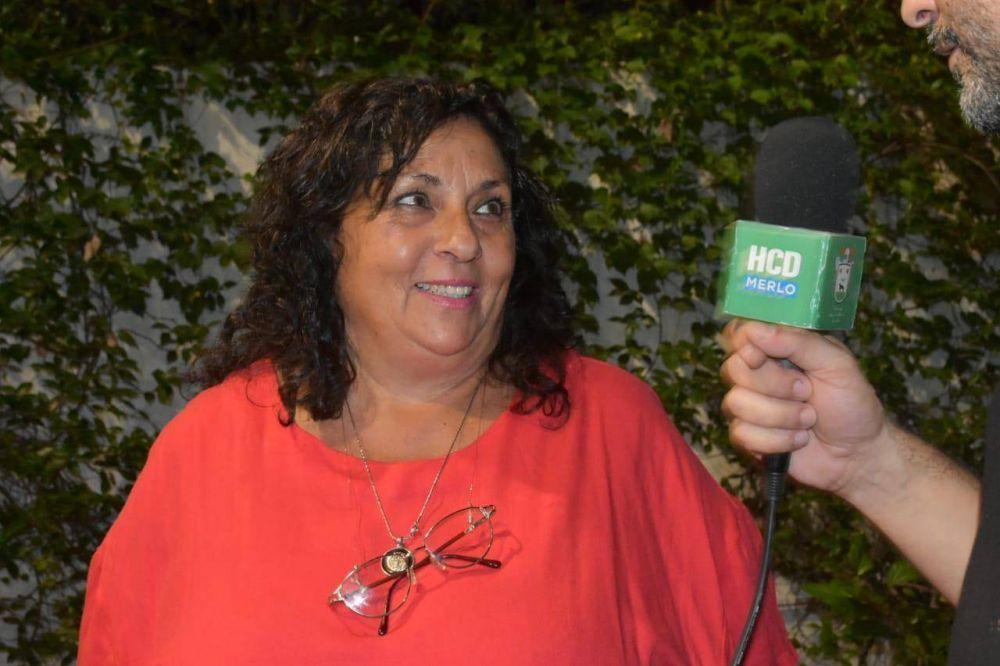 Alejandra Hahn presidenta del HCD