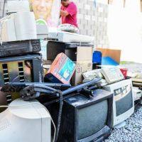 Escobar recolectó 30 mil kilos de residuos electrónicos