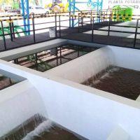 Agua Potable finalizo exitosamente una nueva planta potabilizadora en Los Morados