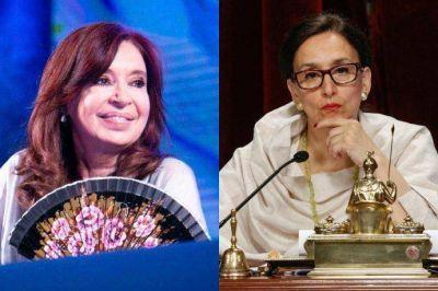 Cristina desembarca en Senado y define jefatura de comisiones