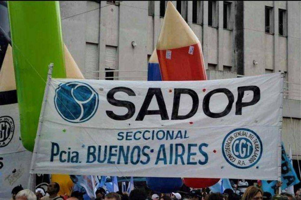SADOP alerta por despidos arbitrarios y pide adherir al proyecto de ley anti despidos