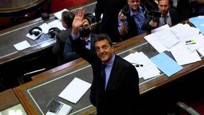 Los desafíos de Sergio Massa como presidente de la Cámara de Diputados: las negociaciones con los otros bloques y la posibilidad de sesionar en el verano