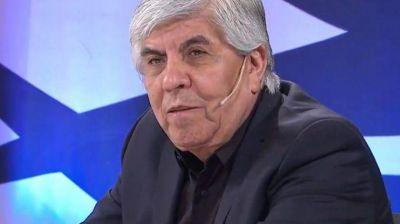 Hugo Moyano lamentó la
