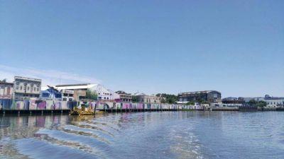 La Ciudad pide abrir 1200 metros del Riachuelo para navegación comercial y turística