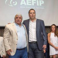 Espaldarazo gremial y político a Flores en su asunción en la AEFIP