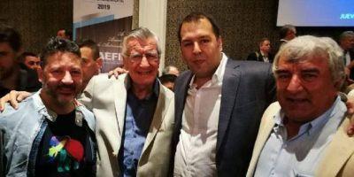 Importante apoyo político y sindical a Pablo Flores, en su asunción de la conducción nacional de AEFIP