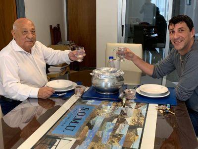 SOMU: Durdos desmintió categóricamente que tenga diferencias con su adjunto Daniel Mereles