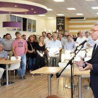 """Tigre, presente en la inauguración de la nueva estación de servicio Axion en Nuevo Delta"""""""