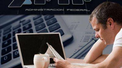 Sistema Integrado de Retenciones Electrónicas: la AFIP intima a contribuyentes que no están inscriptos