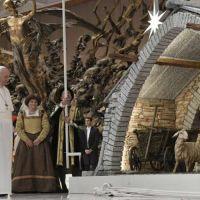 El Papa Francisco advierte que el pesebre es un signo de nuestra fe que no debe perderse