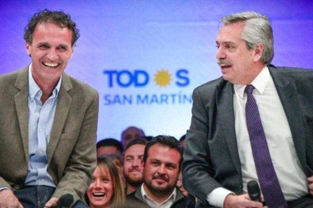 Katopodis se despidió de la intendencia de San Martín para asumir como ministro de Obras Públicas