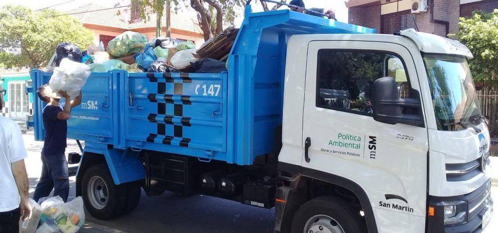 La recolección de reciclables se expande a más barrios de San Martín