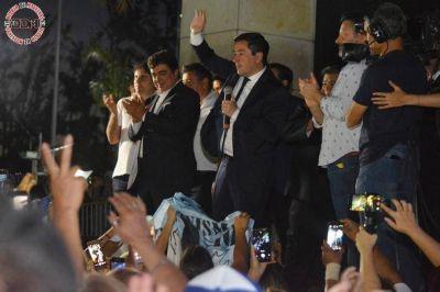 Nardini asumió como intendente reelecto en Malvinas Argentinas