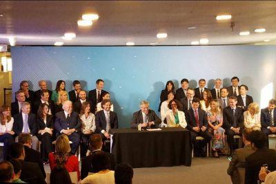 Alberto Fernández presentó a su gabinete: