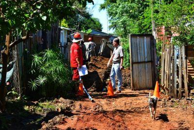 El agua potable llegó al barrio Las Tacuaritas para más de 130 familias