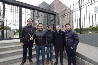 El Partido Justicialista Bonaerense homenajeó a Nestor Kirchner en Río Gallegos
