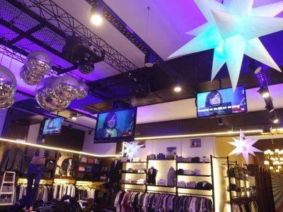 Boqueteros sustrajeron una millonaria suma en ropa de un comercio de la peatonal 83