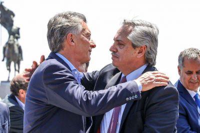 Ante Fernández y Macri, la Iglesia pidió unidad y no