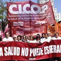 """Cicop espera que el nuevo gobierno revierta la """"gestión altamente deficitaria"""" de Macri y Vidal"""