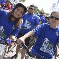 Malvinas Argentinas tuvo por primera vez su Bike Fest