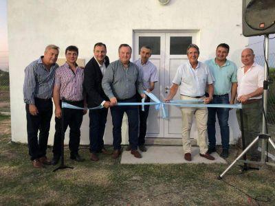 Garibay, Michlig y Rigo inauguraron obras de cloacas en San Cristóbal