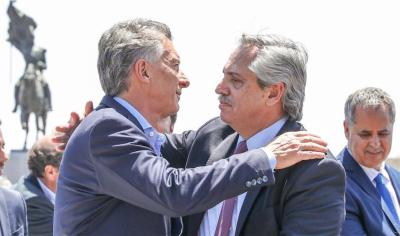 Macri y Fernández juntos en Luján: La Iglesia llama a la unidad