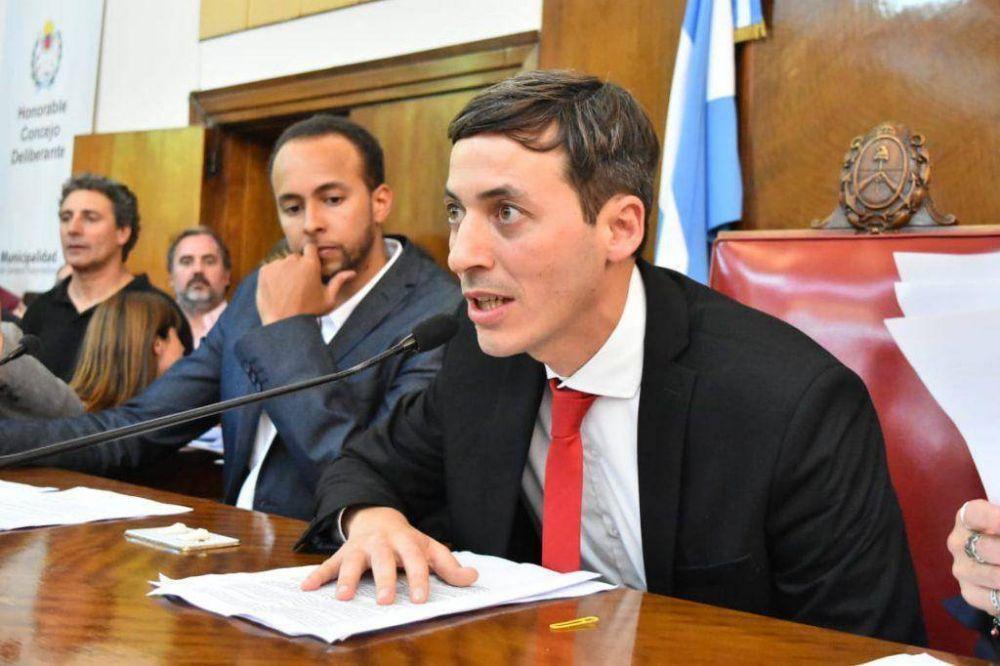 Ariel Martínez Bordaisco es el nuevo presidente del Concejo Deliberante