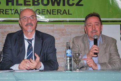 Hlebowicz y Tomada cerraron ciclo de capacitación para delegados de Pasteleros