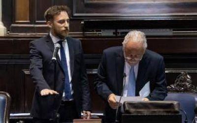 Otermín, Moreno y Urreli estarán al frente de la Cámara de Diputados de la Provincia