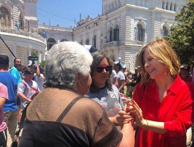 """Florencia Saintout: """"Vamos a construir la posibilidad de que sea intendenta en las próximas elecciones"""""""