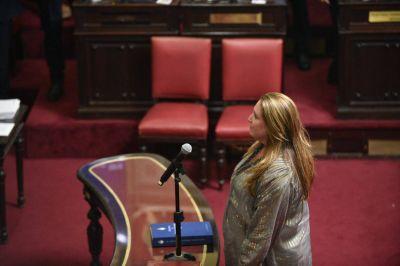 Magdalena Goris asumió como Senadora Provincial
