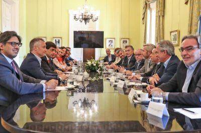 En su despedida, Mauricio Macri prometió tener