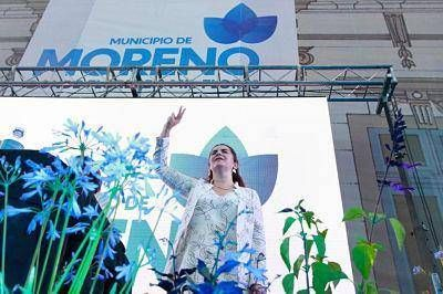 Asumió Mariel Fernández, primera intendenta mujer en la historia de Moreno
