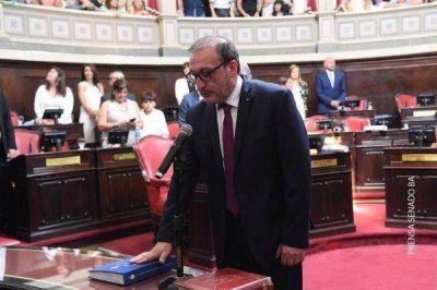 Luis Vivona es el vicepresidente tercero del senado bonaerense