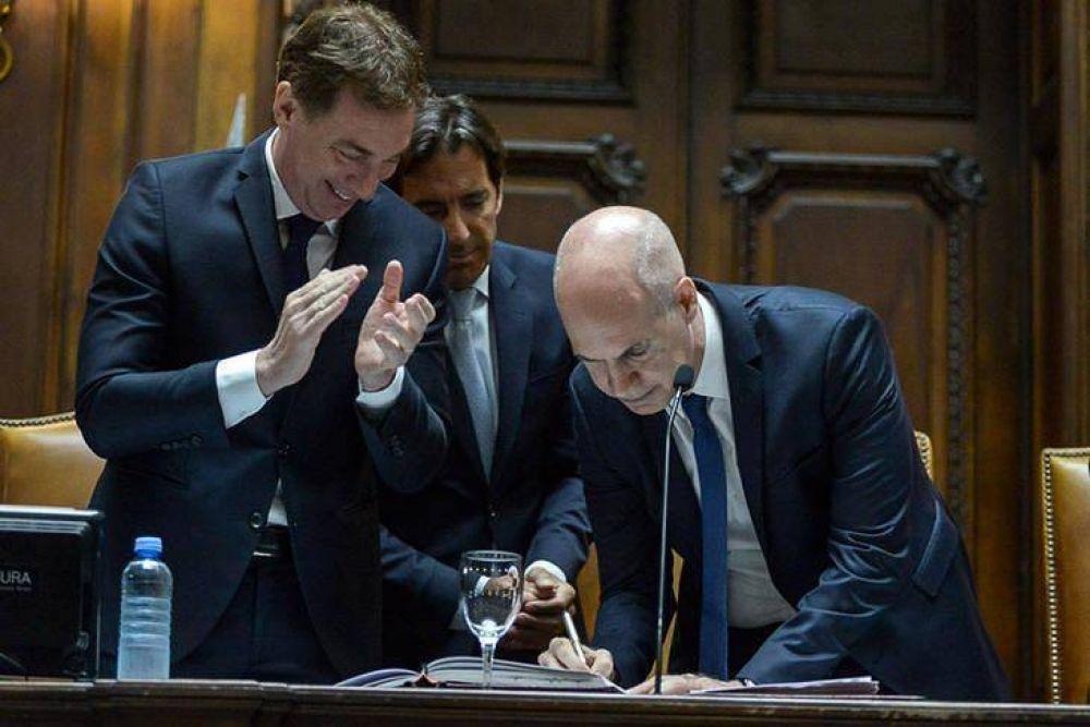Entre el consenso y la reforma educativa, Larreta lanzó el cuarto mandato Pro en la Ciudad