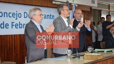 Diego Valenzuela reasumió la Intendencia de Tres de Febrero