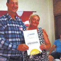 Familias de Pozo Azul accedieron al Programa de Viviendas Rurales