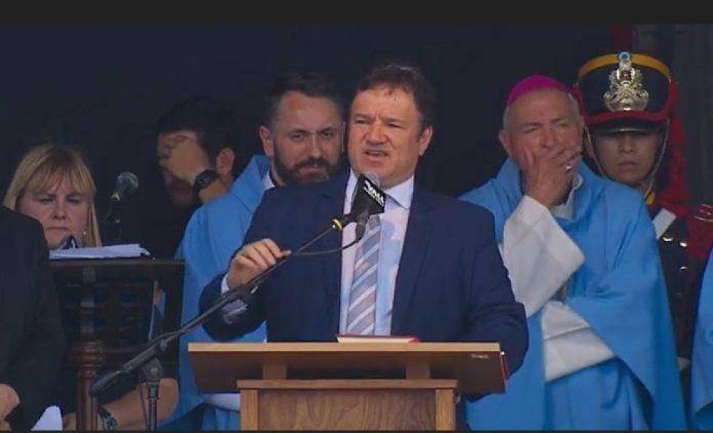 El Rabino Marcelo Polakoff fue el representante de la comunidad judía en el acto de la Basílica de Luján