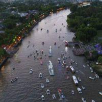 Tigre festejó el día de la Virgen con la tradicional procesión náutica