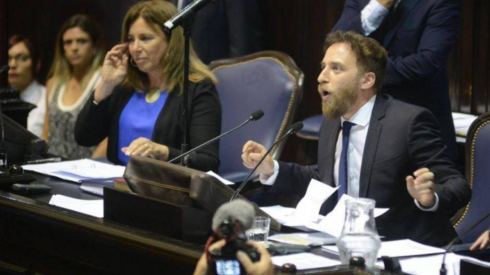 Otermin asumió la presidencia de Diputados y Vidal impuso una vice con firma