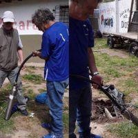 Mar del Plata solidaria: donaron una nueva bomba de agua al comedor Pucará