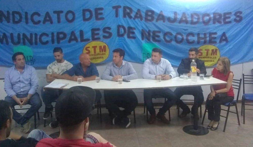 "Rojas les pidió un ""voto de confianza"" a los municipales"