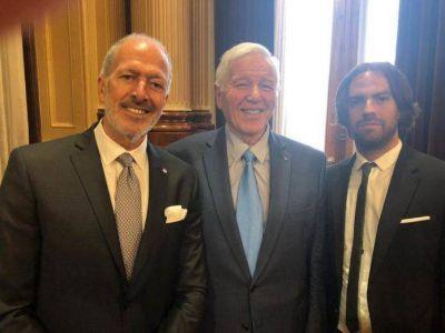 La dirigencia judía argentina presente en el Congreso en la asunción de Alberto Fernández